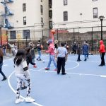 The city is reconstructing 67 parks citywide.