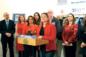 """""""There's humanity that is being brought back,"""" says City Council Speaker Melissa Mark-Viverito."""