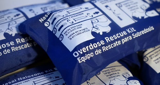 The city has announced it will distribute 100,000 naloxone kits.