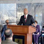 """""""You've been a good neighbor,"""" said Bronx Borough President Rubén Díaz Jr. to college officials."""