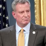 "The city's jail system is becoming ""smaller and safer,"" said de Blasio."