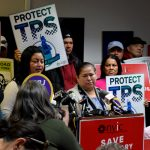 """We need to have a permanent solution,"" said TPS recipient Minda Hernández."