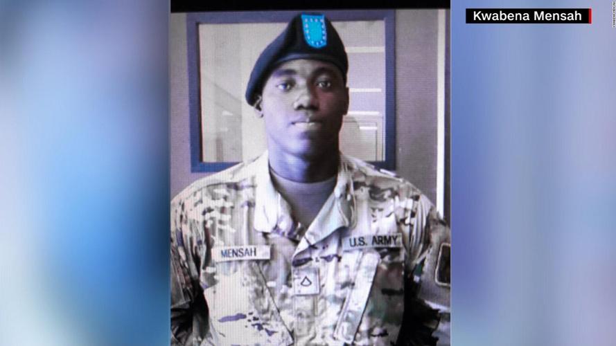 Emmanuel Mensah was a U.S. Army private.