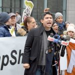 """We're saying DREAM Act now, DREAM Act today,"" said Councilmember Carlos Menchaca."