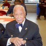 Former New York City Mayor David Dinkins was honored.