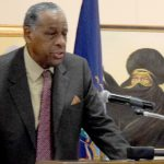Carl McCall, Chairman of the SUNY Boardof Trustees, was recognized.