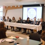 The forum was held at Metropolitan College of New York.