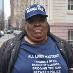 """""""We need to stand as one resident body,"""" said Monique Johnson."""