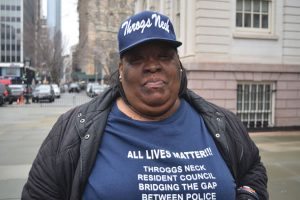 """We need to stand as one resident body,"" said Monique Johnson."