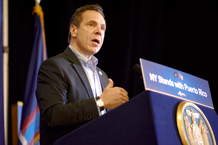 """Your pain is our pain,"" said Governor Andrew Cuomo."