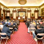The City Council's For-Hire Vehicle Committee held its first public hearing.