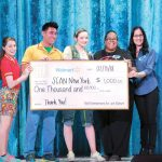 SCANNew Yorkreceived the Walmart Community Playmakers Award