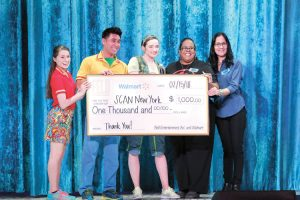 SCAN New York received the Walmart Community Playmakers Award