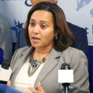 State Senator Marisol Alcántara.