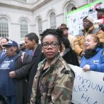 """""""What we see happening today is ridiculous,"""" said Councilmember Alicka Ampry-Samuel. Photo: William Alatriste 