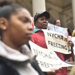 The rally drew dozens. Photo: William Alatriste | NYC Council