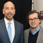 Borough President Rubén Díaz Jr. with John Leguizamo. Photo: Office of the Governor