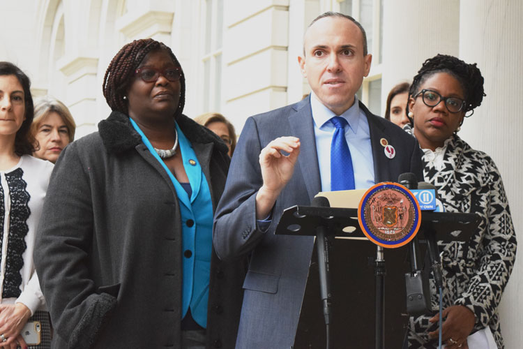 """This is about basic decency,"" said Councilmember Mark Treyger."