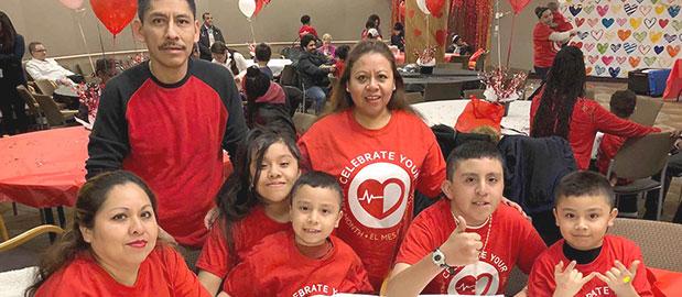 Pediatric heart patients celebrate at MontefiorePacientes cardíacos
