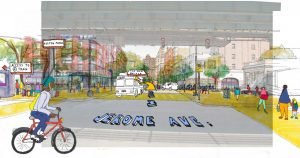 A rendering from NYC Planning.