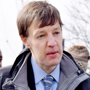 """""""I can think of few things that make the city fairer than better transit,"""" said EDC President James Patchett."""