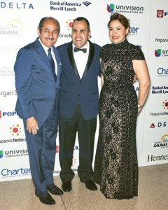 From left: Guillermo Linares, Jose Calderón, and Mayra Linares-García.