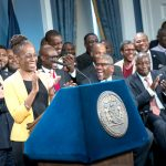 """Black men are leaders,"" said First Lady Chirlane McCray."
