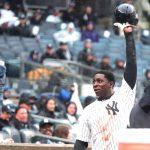 New York shortstop Didi Gregorius drove in eight runs.