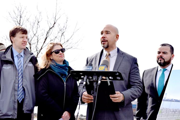 """We're excited,"" said Borough President Rubén Díaz Jr."