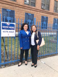 In a special election for Assembly District 80, Nathalia Fernández (left) won the seat vacated by Mark Gjonaj.