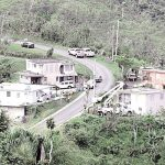 The Caguas mountainous region was one of the hardest hit by Hurricane María. Photo: FEMA/D. Palmer