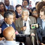 """""""We had a district that no one was able to divide,"""" said Charles B. Rangel."""