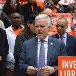 "Libraries are ""the heart and soul of a democratic society,"" said Councilmember Jimmy Van Bramer."