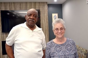 "Sandra Unger and Joseph Bacote found the space ""fantastic."""
