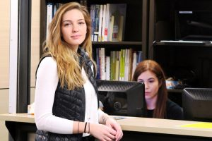 """""""I hope to save the planet in my small way,"""" says Berkeley College student Samantha Chase."""