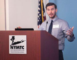 DCP Senior Planner Michael Parkinson.
