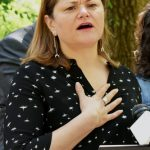 """We are still living in a crisis,"" said former City Council Speaker Melissa Mark-Viverito."