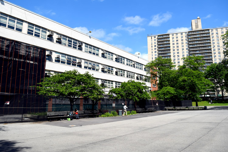 The Bronx High School of Science campus.