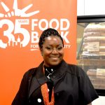 """""""This is my favorite day,"""" said Food Bank CEO Margarette Purvis."""