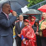 """""""We cannot afford to lose these psychiatric beds,"""" said Deputy Borough President Aldrin Bonilla."""