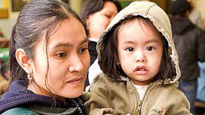 Hay cientos de niños separados ahora en refugios de Nueva York.