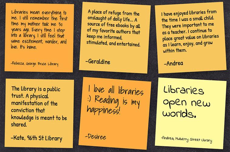 Love Letters to the LibraryCartas de amor a la biblioteca - The