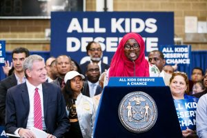 The announcement was made on June 13th. Photo: NYC Mayoral Office | Benjamin Kanter