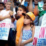 """La defensora pública Letitia James llamó a los trabajadores en huelga """"el corazón y el alma de la clase trabajadora""""."""