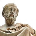 Plato was a famous faster.