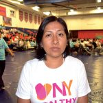 María, a nail salon worker, spoke of earning about $25 a day in pay.