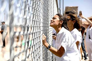 Ocasio-Cortez, who traveled to the U.S.-Mexico border two days before the primary, has called for ICE to be abolished.