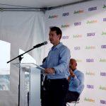 """""""Estamos aquí porque hacemos lo correcto"""", dijo el cofundador de FreshDirect, Jason Ackerman."""