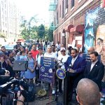 The conference was held at East 183rd Street.