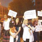 Manifestantes han luchado contra el proyecto.